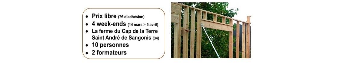 chantier structure bois